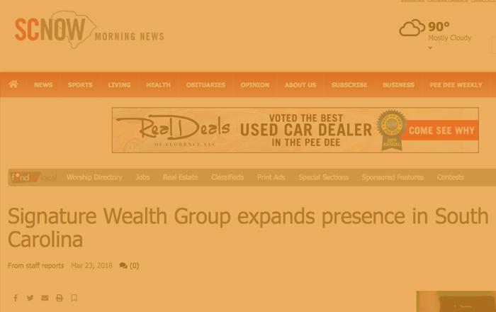 signature wealth - scnow.com