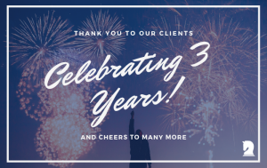 Signature Wealth Strategies 3 Year Anniversary