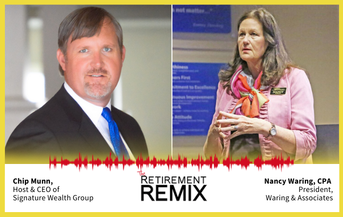 retirement remix feature with nancy waring cpa