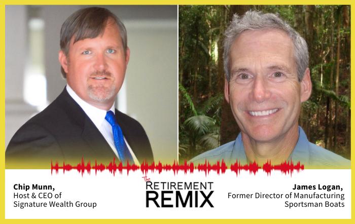 retirement remix feature james logan