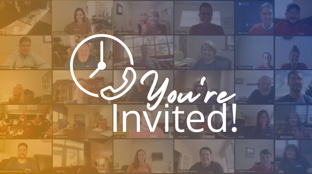 You're invited to Signature Wealth Office Hours